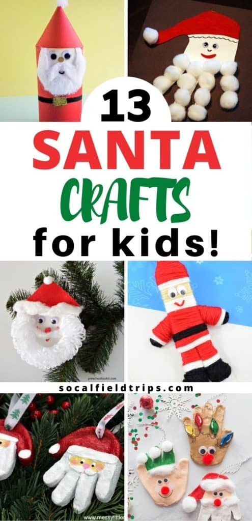 There's no better way to get into the spirit of the season than crafting a bit of holiday decor, especially when the whole family is gathered around the table.  Focus on Santa Claus this Christmas by creating one of these 15 Easy Santa Claus Crafts For Kids!