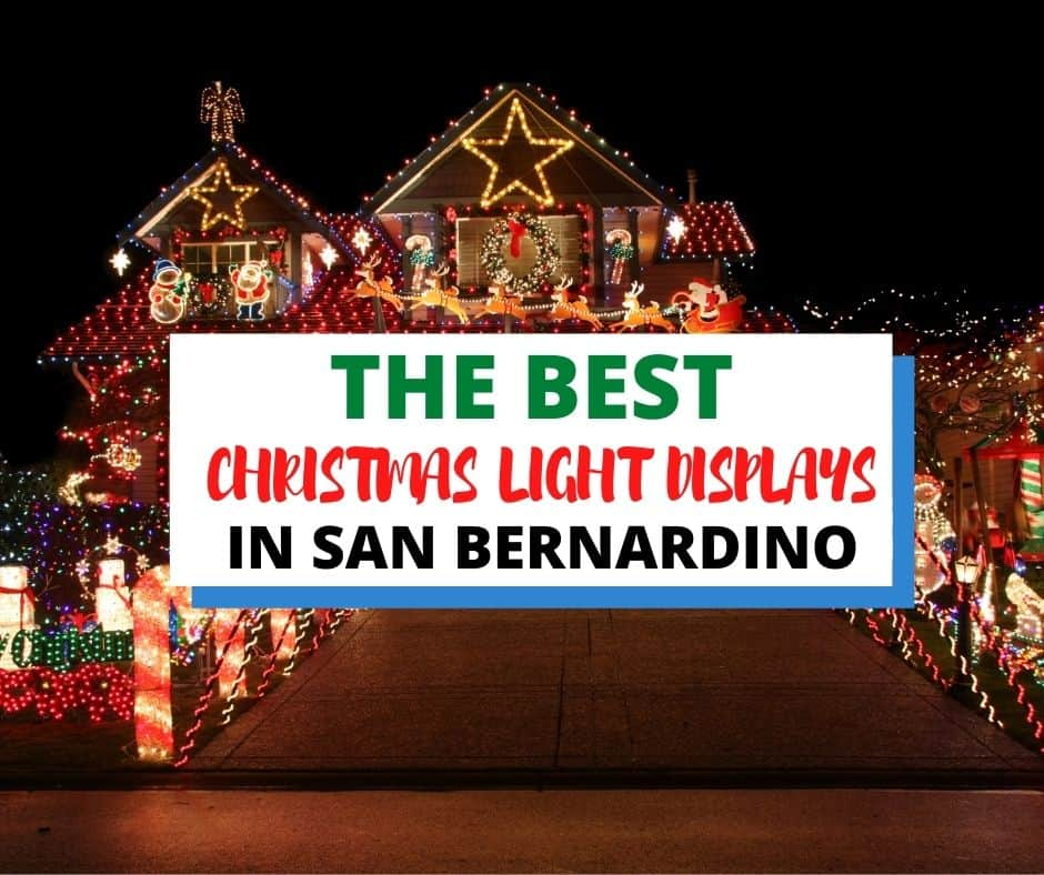 Check out this list of neighborhoods and local places that have some of the best Holiday Light displays in San Bernardino and beyond.