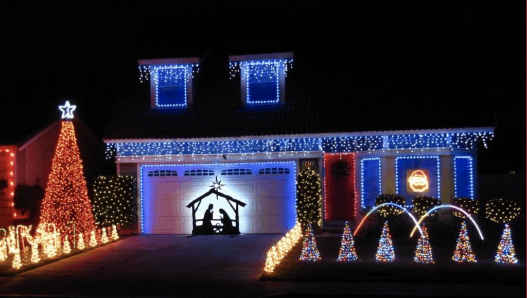 Christmas Lights in San Bernardino