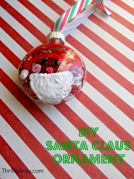 Santa Ornament Craft