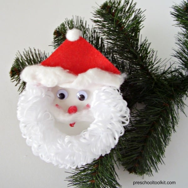 Santa Beard Craft For Kids