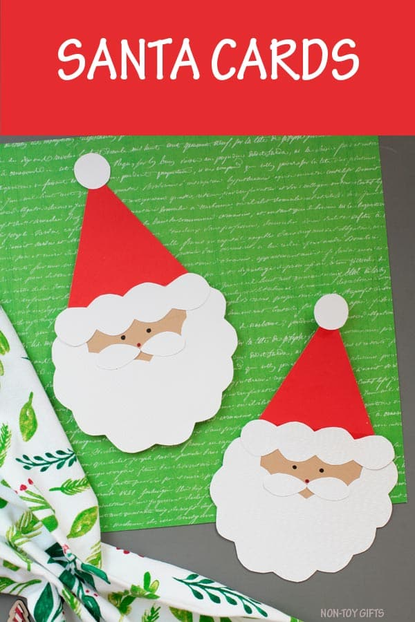 Santa Claus Card Craft For Kids
