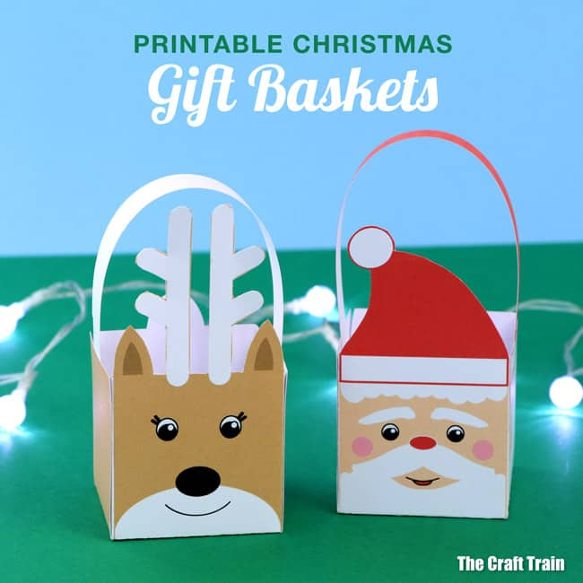 Santa Gift Basket Craft