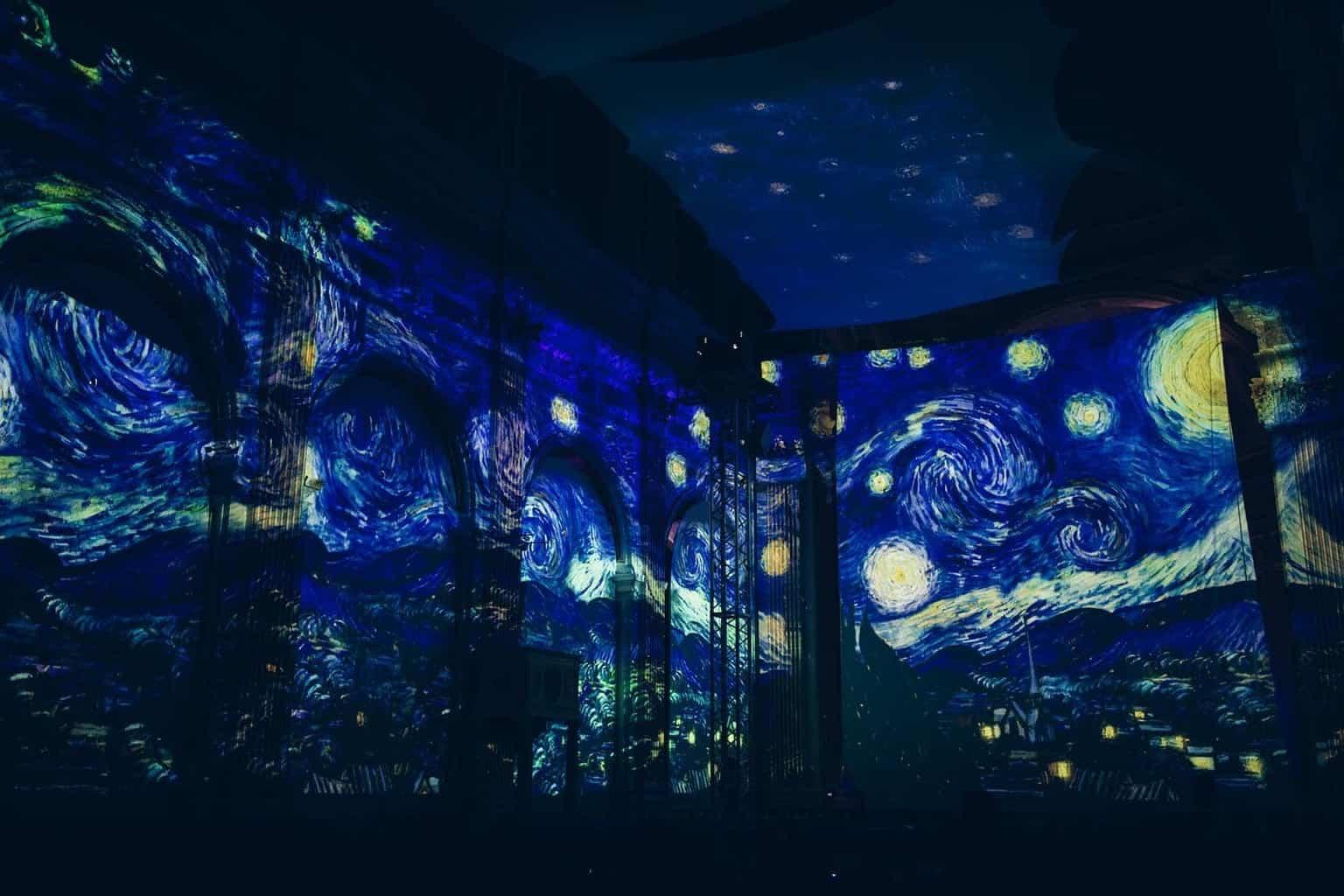Vincent van Gogh Experience in LA