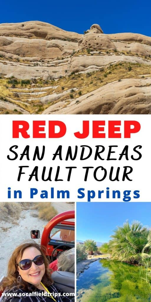 Are you looking for a fun outdoor activity in the Palm Springs area? Then take a tour of the San Andreas Fault with Red Jeep Tours in Palm Desert.