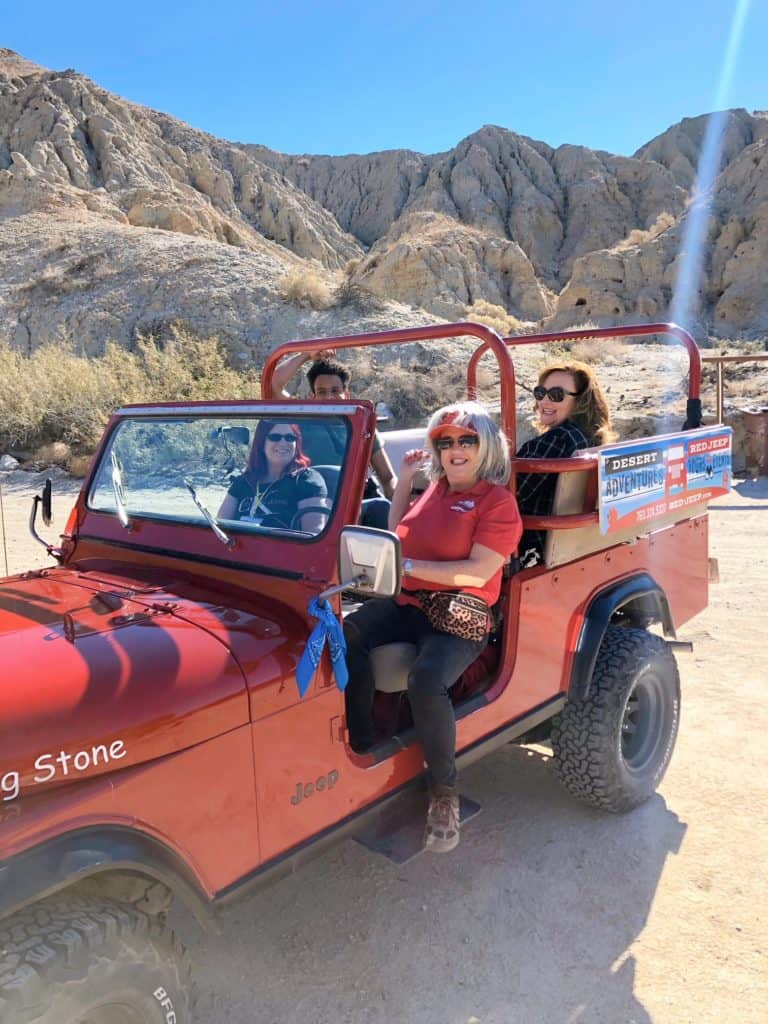 Red Jeep Tours Palm Springs