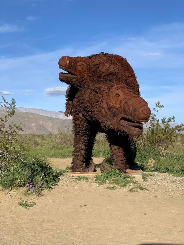 Metal Sculptures in Palm Springs