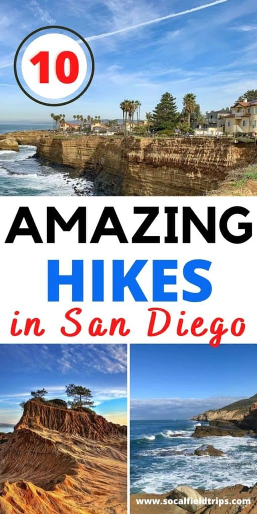 Check out this list of the 10 Best Hikes in San Diego! Exploring San Diego's trails offers everything from urban scenery to immaculate views of the Pacific Oceans, nearby mountains, and vistas. You can't go wrong with any trail, but you'll want to plan appropriately, based on skill level, trail type, and weather conditions. #california #visitcalifornia #visitsandiego #sandiego #familytravel #travel