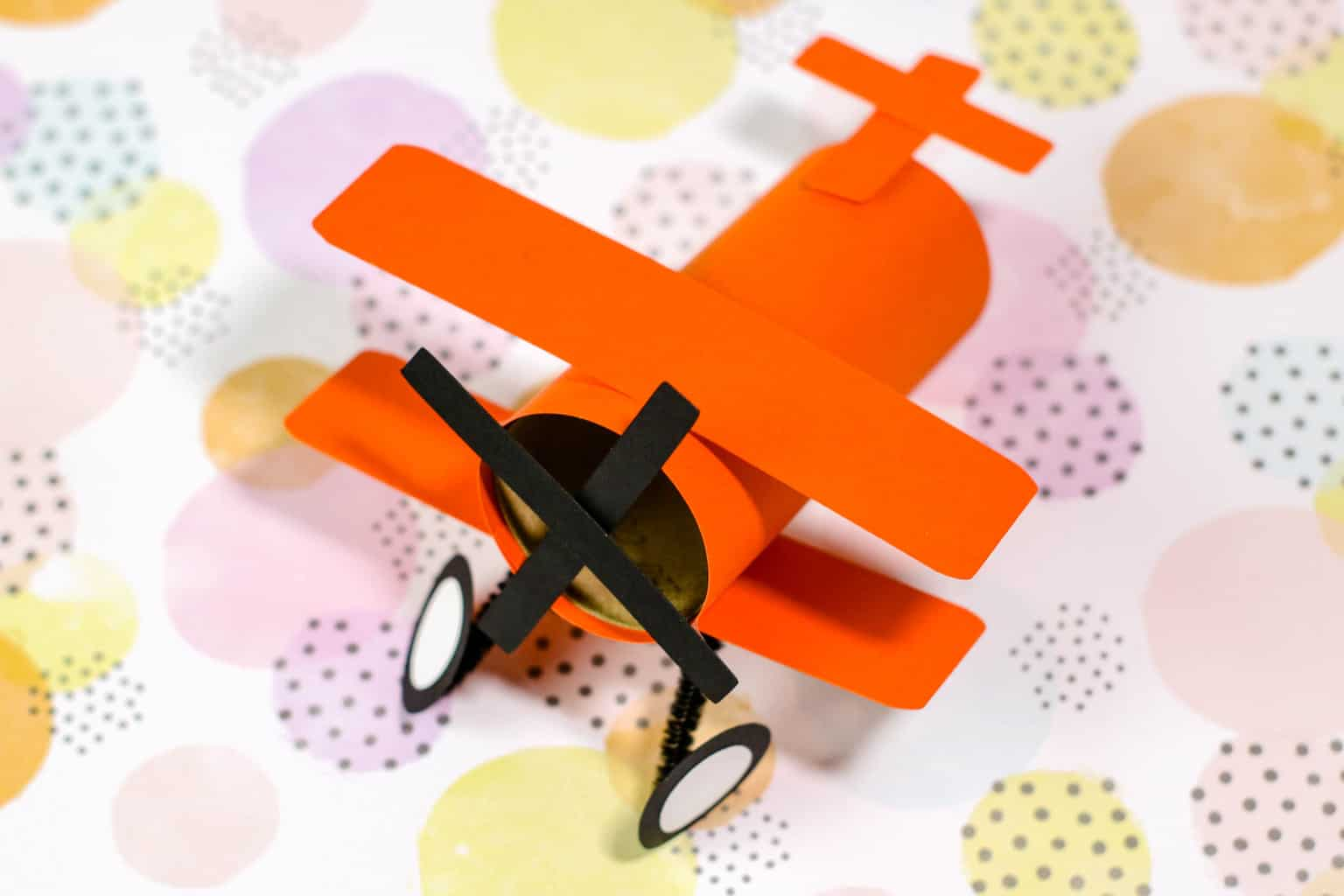 Airplane Toilet Paper Roll Craft