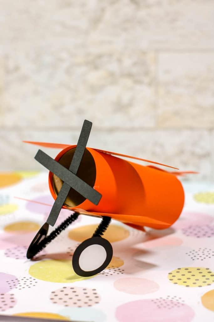 Airplane Toilet Paper Tube Craft