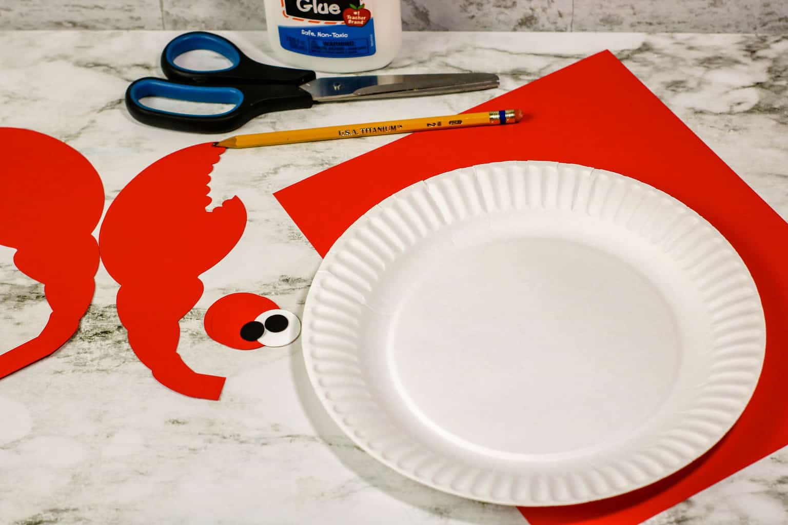 Crab Plate Craft