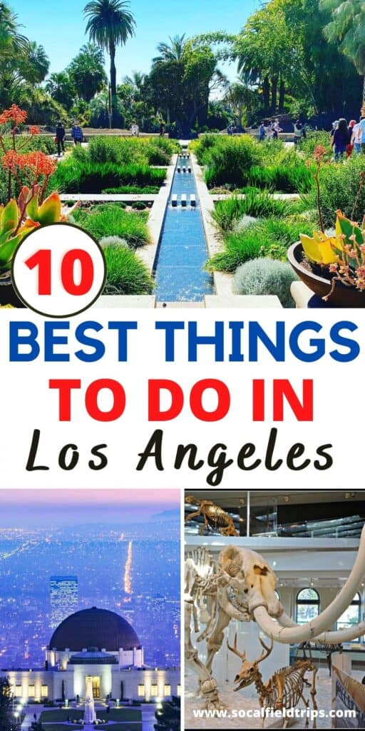 Check out this list of 10 Things To Do in Los Angeles! With so many amazing attractions, you could do something new in Los Angeles every day and not visit the same spot in a year. From Griffith Park's attractions to the Los Angeles Zoo and in-between, the city has so much to offer.