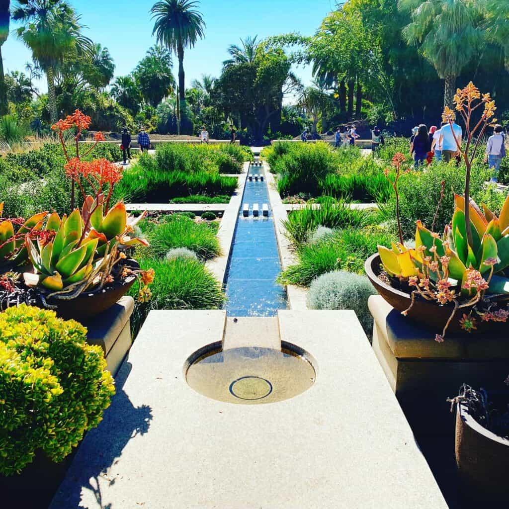 Huntington Library and Botanical Gardens in Pasadena