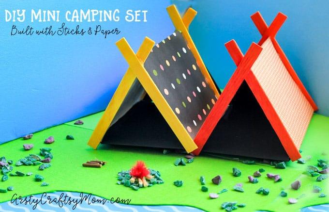 Mini Camping Set Craft