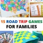 If you're looking for a screen-free way to keep your kids having fun on your next road trip, then I highly encourage you to try out some road trip games on this list of 15 Road Trip Games For Kids! All you have to do it print and go.