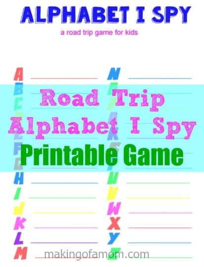 Alphabet I Spy Game