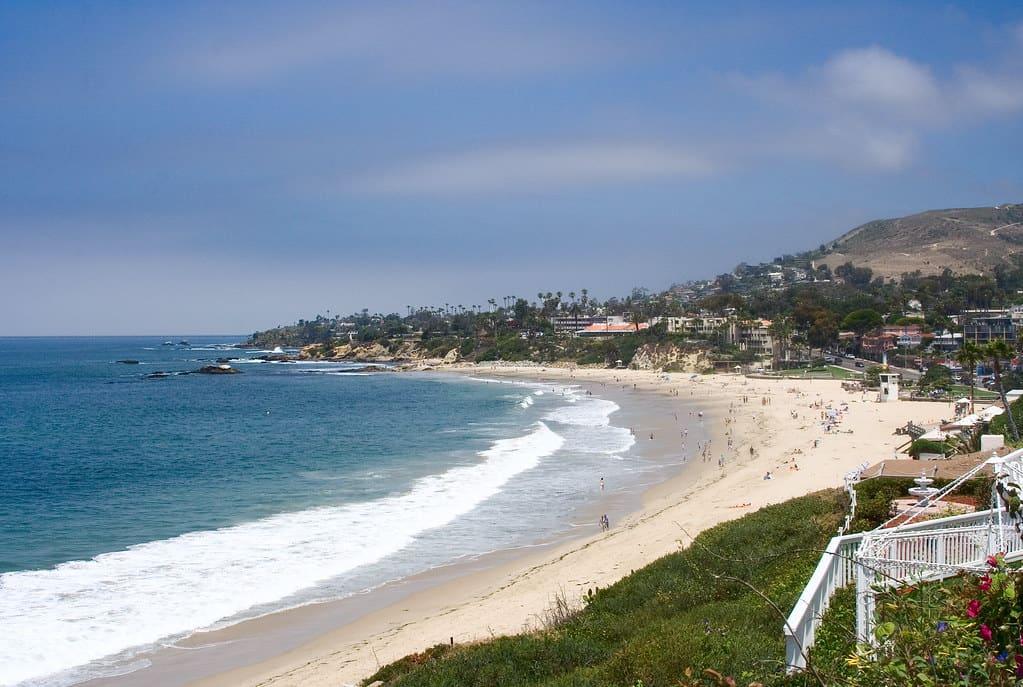 Laguna Beach is one of the best beaches in Orange County