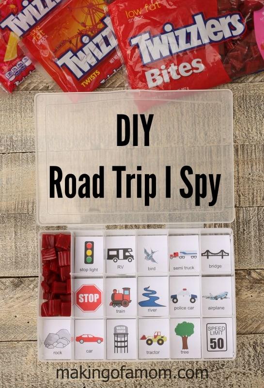 Road Trip I Spy Kit